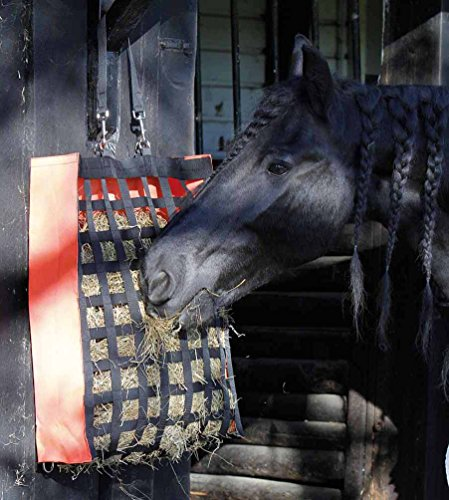 Reitsport Amesbichler Sac à foin Harry's Horse - Avec de nombreuses ouvertures - Très solide - Largeur : 52 cm - Hauteur : 70 cm - Profondeur : 17 cm