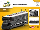 Prison bus for transfer (Instruction Only): MOC LEGO (English Edition)