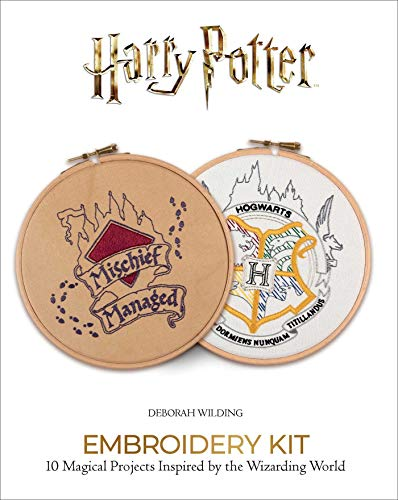 Harry Potter Embroidery (Embroidery Craft)