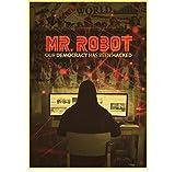 ZOEOPR Leinwandplakat Mr. Robot Poster Klassisches