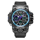 Men Wrist Watches SBAO Sport Watch Men Digital LED Electronic Watches TPU Quartz Wristwatches Quartz Watch for Men Under 5 for Lovers