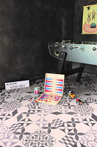 PVC Bodenbelag im Retro-Look (9,95€/m²), Zuschnitt (4m breit, 1,5m lang)