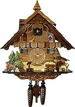 Cuckoo Clock Quartz-Movement Chalet-Style 42cm Engstler