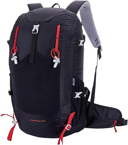 WLLS Sac à Dos de randonnée Ultra léger 40L Sac à Dos de Voyage imperméable Sac de Sport en Plein air pour l'escalade du Camping en randonnée Alpinisme sking