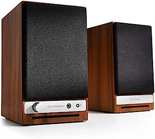 Audioengine HD3 60 W Aktywne Bezprzewodowe Głośniki Komputerowe   Wbudowany 24-bitowy Przetwornik Cyfrowo-Analogowy USB i ...