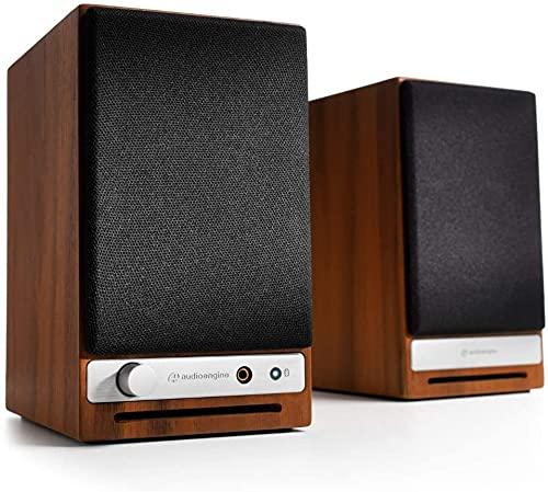 Audioengine HD3 - Altavoz activo inalámbrico de escritorio (60 W, USB 24 bits, DAC y amplificador analógico, aptX HD, Bluetooth,...