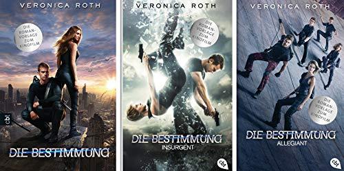 Die Bestimmung Serie, Divergent, Insurgent, Allegiant von Veronika Roth Romane zum Film (Taschenbuch, Deutsch)