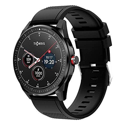 LITINGT Reloj Inteligente Pulsera de Fitness Ip68 Entrenamiento de respiración a Prueba de Agua Detección de frecuencia cardíaca Llamada Bluetooth Podómetro Masculino y Femenino Adecuado para Todo t