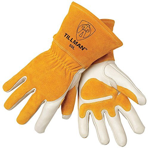 Tillman 50L MIG Welding Glove, Pearl, Medium by Tillman