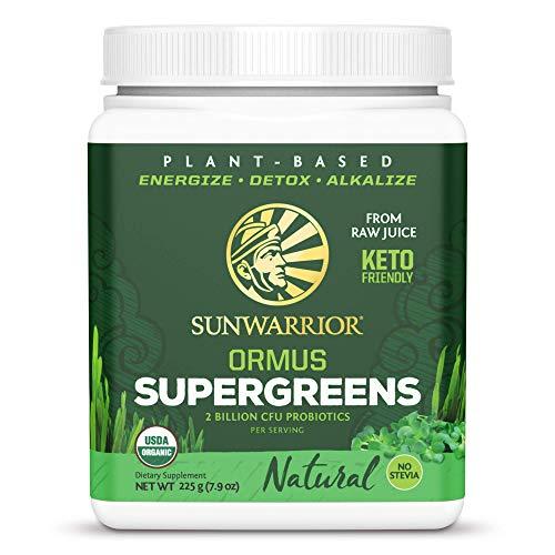 Sunwarrior Ormus Super Greens Natural - 225 gr