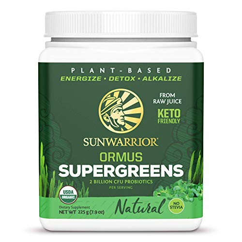 Sunwarrior Ormus Super Greens Natural - 225 gr