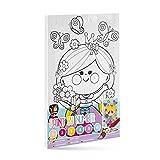 Grafix Peinture par Numéro - Superbe Princesse à Colorier Pour Enfants dès 6 Ans - Bricolage, Jeux Educatifs de Création et Concentration pour Filles