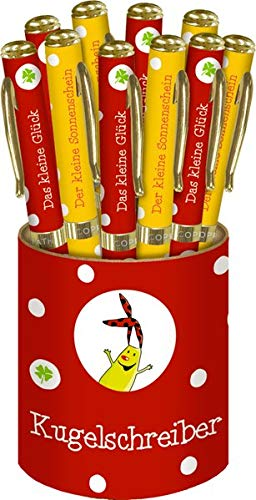 Kugelschreiber - Das kleine Glück: 2 Designs in Displaydose