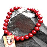 One Piece Portgas D Ace Cosplay Accessory Necklace Fire Fist Wooden Beads Gift