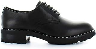 Ash Luxury Fashion Womens WHISPER01 Black Lace-Up Shoes | Fall Winter 19