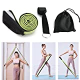 Fascia di Resistenza + Door Anchor, Allenamento Pull Up Stretching, Mobility Powerlifting Yoga/...