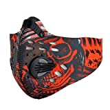 Sports Dust Mask Anti Pollution Half Face Mask Activated...
