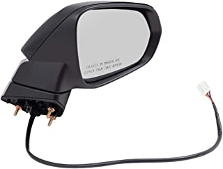 BROCK Side View Mirror for 2016-2019 Lexus RX350 Passenger Replacement Power Heated Signal Manual Folding 879100E230C0 87910-0E230-C0