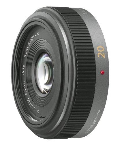 パナソニック 単焦点 広角パンケーキレンズ マイクロフォーサーズ用 ルミックス G 20mm/F1.7 ASPH. H-H020の詳細を見る