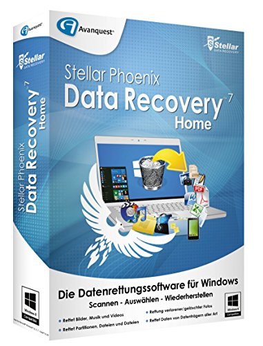 Stellar Phoenix Data Recovery 7 Home [PC]