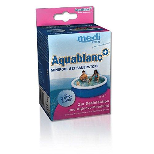 Medipool Minipool Set Sauerstoff - Aquablanc 0,32 kg chlorfreie Wasserpflege