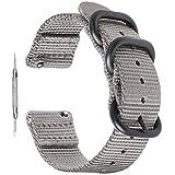 Zeit Diktator 18mm 20mm 22mm 24mm 26mm Quick Release Watch Band,Nylon NATO Watch Strap for Men Women Optional Color
