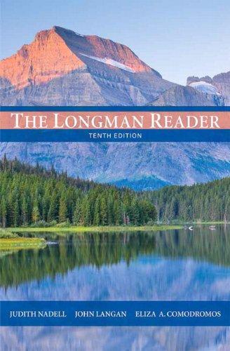 The Longman Reader (10th Edition)