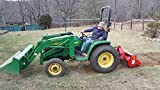 Farmer Helper Rotary Tiller for Subcompact Tractor
