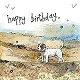 Alex Clark - Tarjeta de felicitación de cumpleaños, diseño de playa