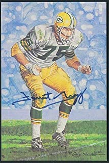 Forrest Gregg Autographed Signed Memorabilia 1991 Goal Line Art Card Autograph Auto - PSA/DNA Authentic