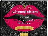 Adventskalender Adventsknistern. 24 lustvolle Geschichten aus der Weltliteratur.