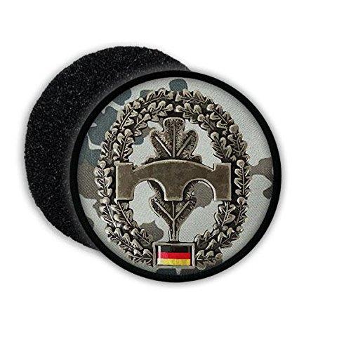 Copytec Patch Bw Pioniere Pi Abzeichen Einheit Bundeswehr Aufnäher Patch Tarnung#21304