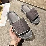 MLLM Zapatilla de bota con correa de cierre táctil, zapatillas de pie para diabetes, zapatos de recuperación de tamaño ajustable, gris_40, zapatos de ajuste ancho para diabéticos