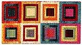 ABC, Gioia A, Tappeto, Multicolore, 110 x 60 cm...
