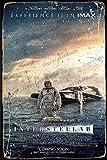 Cimily Interstellar Film Poster Vintage Blechschild