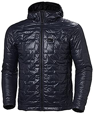 Helly-Hansen Men's LIFALOFT Hooded Insulator Jacket, 994 Graphite Blue, XX-Large