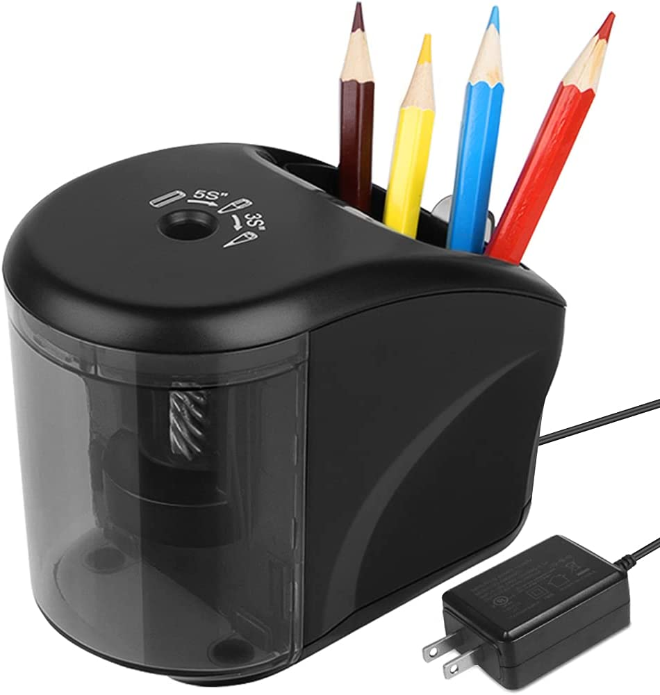 Selling rankings Electric Pencil Shipping included Sharpener Power Adapter Include Battery Operat