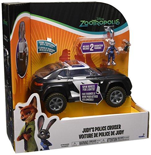 Rocco Juguetes l70903–Zootropolis, vehículo con Figura Deluxe, Modelos Surtidos