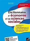Dictionnaire d'économie et de sciences sociales de Jean-Yves Capul (17 juin 2015) Broché - 17/06/2015