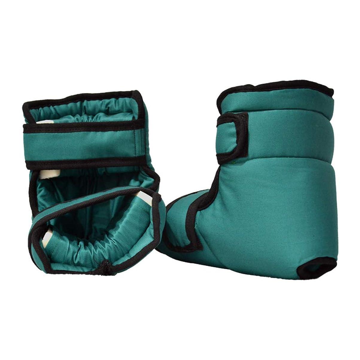 コンパニオンスラムラベルソフト慰めヒールプロテクター枕、足首サポート枕フットプロテクション、1ペア