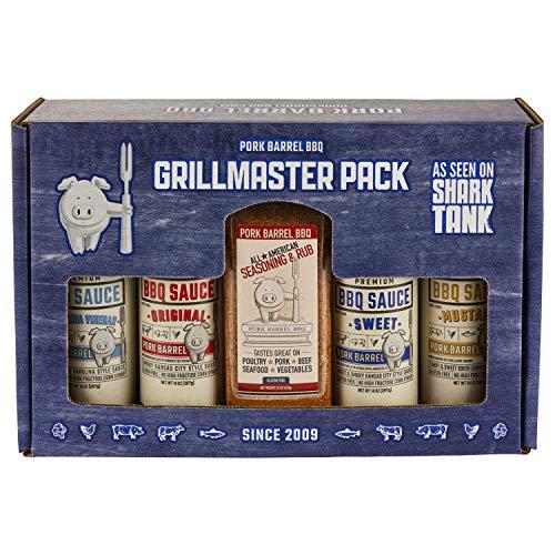 Grilling BBQ Gift Set