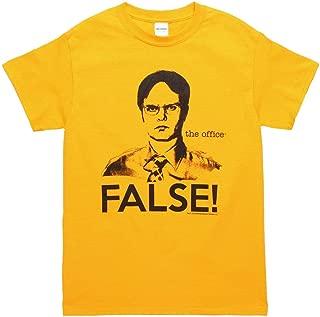 The Office Dwight False! Adult T-Shirt