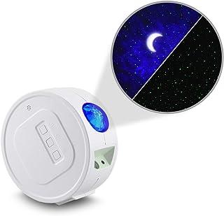Sky Lite - Lámpara LED para habitación de juegos, cine en casa o ambiente de luz nocturna, diseño clásico, color blanco