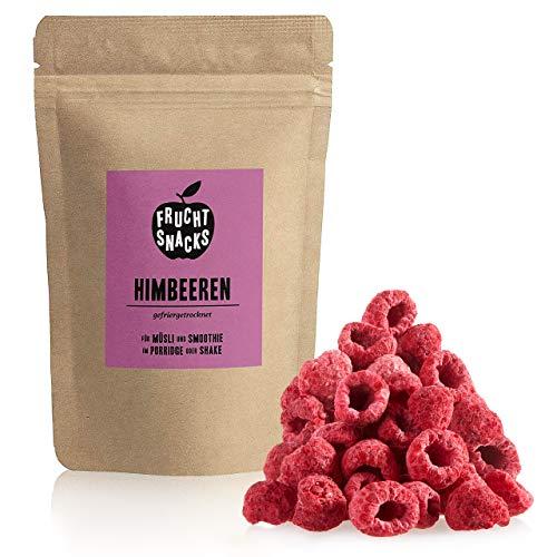 Himbeeren gefriergetrocknet 300g: Ganze getrocknete Himbeeren ungezuckert - Gefriergetrocknete Himbeeren mit purer Frucht, voller Geschmack: Beeren gefriergetrocknet - Getrocknete Fruechte NUTRIPUR