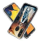 FNBK Custodia per Samsung Galaxy M30, Custodia Protettiva per Cellulare in Cristallo di si...
