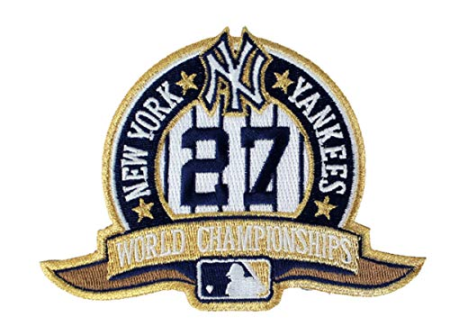 Emblem Source New York Yankees 27 Times Champions Collectors Patch