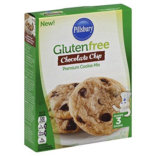 Pillsbury Gluten Free Chocolate Chip Premium Cookie Mix, 17.5 Ounce