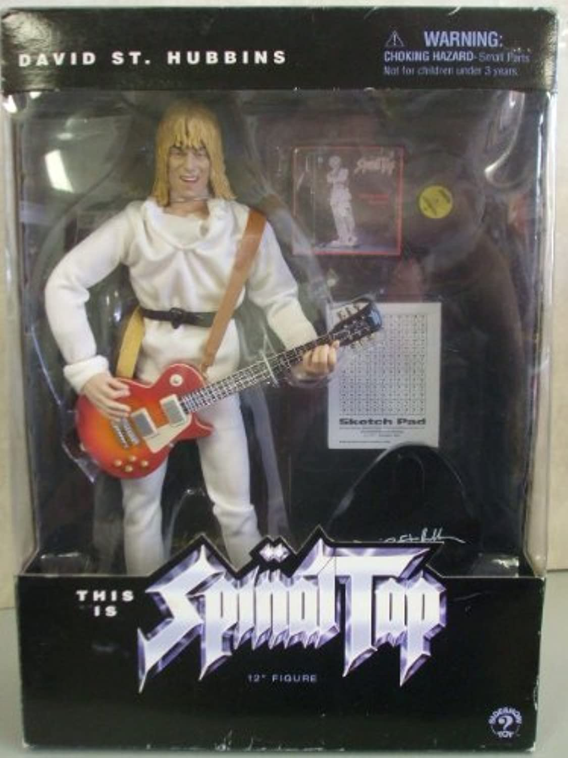 Spinal Tap 12 inch David St. Hubbins figure
