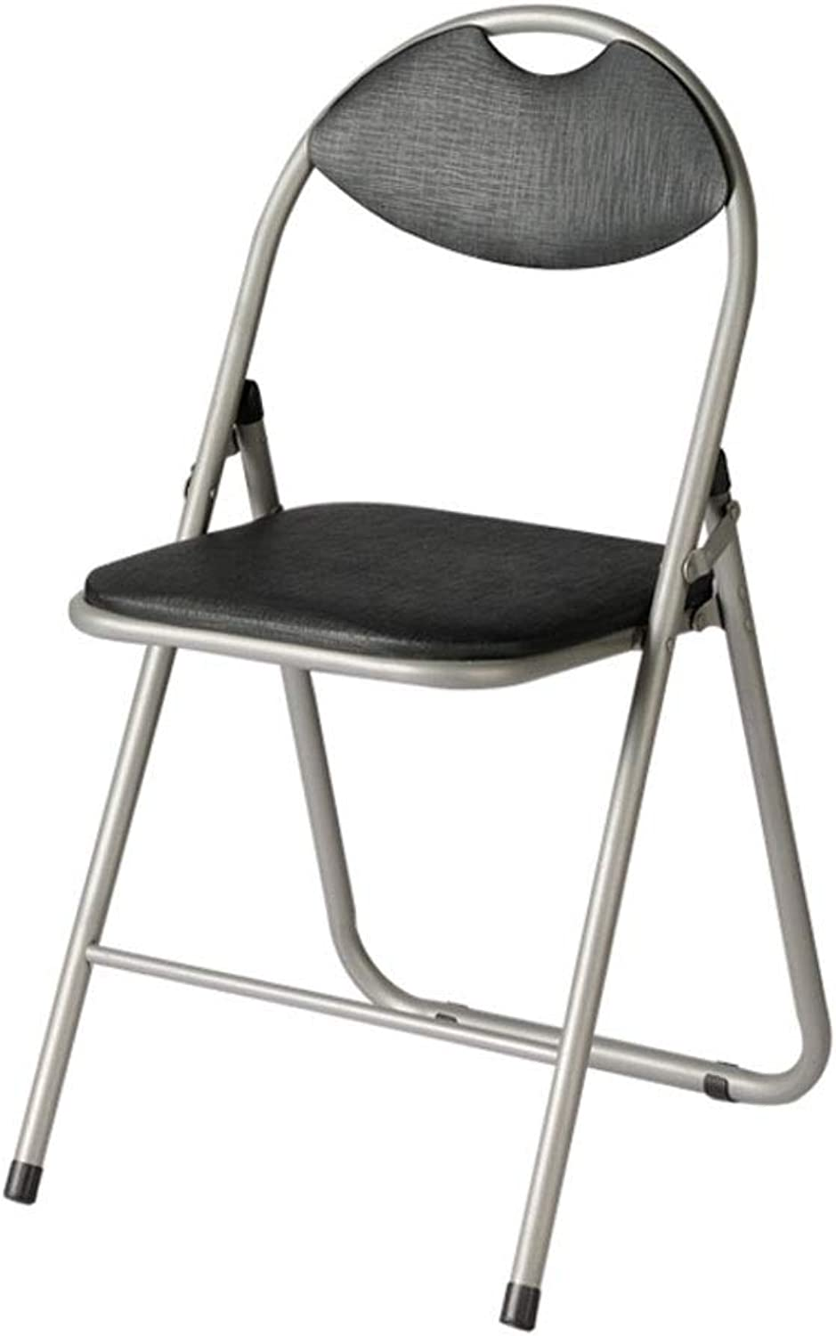 Folding Chair Cushion Fabric Thickening Seat Metal Frame Office Conference Chair