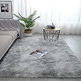 Pauwer Plüsch Shaggy Teppiche Seidig Glatte Pelzteppiche Moderne Indoor Plüsch Flausch Teppiche...